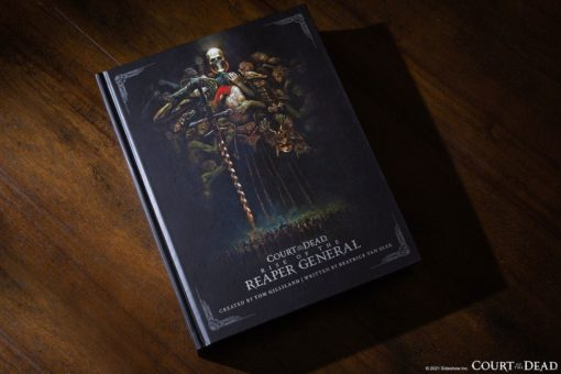 Court of the Dead Book Rise of the Reaper General