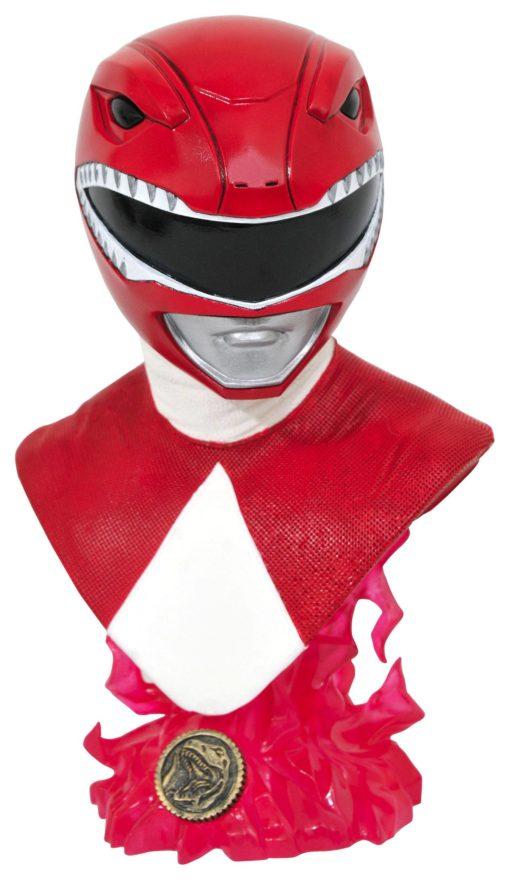 Mighty Morphin Power Rangers Legends in 3D Bust 1/2 Red Ranger 25 cm