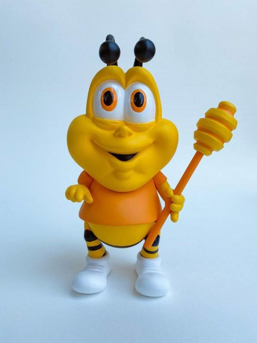 Ron English's Cereal Killers Vinyl Statue Honey Butt the Obese Bee 20 cm
