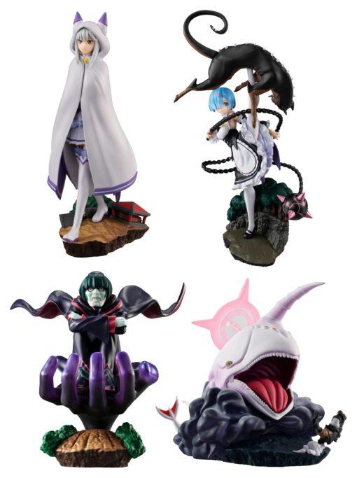 Re:ZERO Petitrama Series Trading Figure 8 cm Re:Memory Assortment (4)