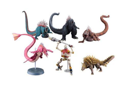 Godzilla: King of the Monsters Gekizou Series PVC Statues 10 – 23 cm Assortment (6)