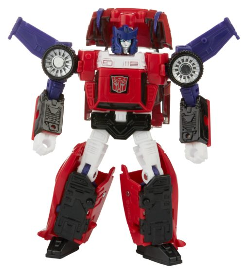 Transformers Generations War for Cybertron: Kingdom Deluxe Class Action Figure Autobot Road Rage