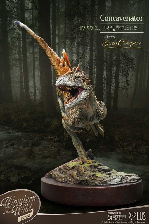 Wonders of the Wild Statue Concavenator Deluxe Version 25 cm