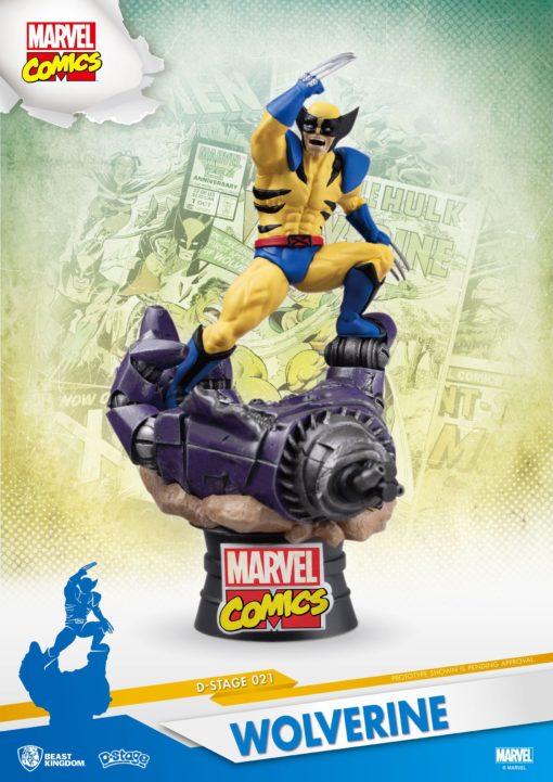 Marvel Comics D-Stage PVC Diorama Wolverine 15 cm