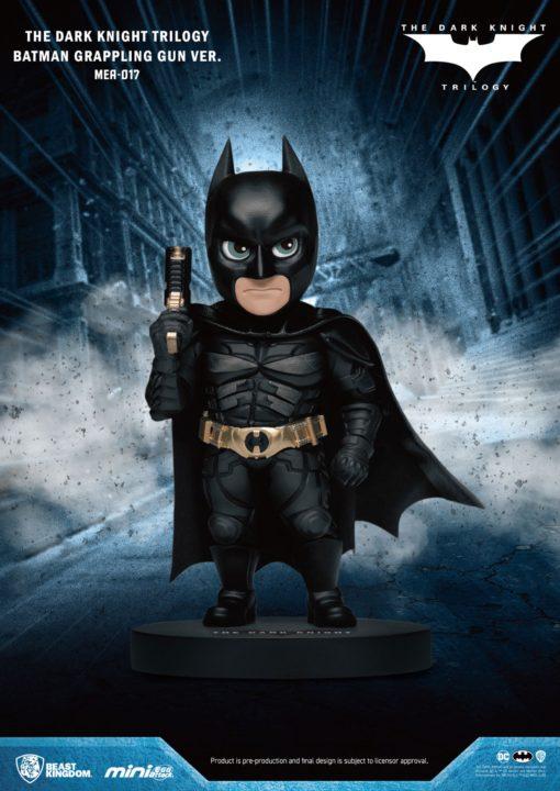 Dark Knight Trilogy Mini Egg Attack Figure Batman Grappling Gun Ver. 8 cm