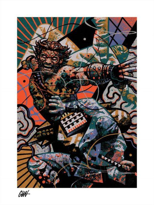 Marvel Art Print Ronin: The Wolverine 46 x 61 cm – unframed